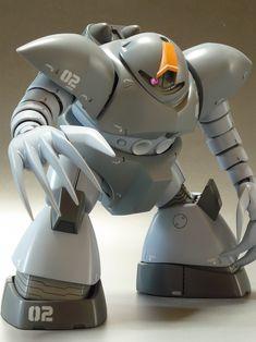 模型・プラモデル投稿コミュニティ【MG-モデラーズギャラリー】ガンプラ|AFV|ジオラマ| - GOGG (ZIMMAD) Mobile Suit, Art Model, Plastic Models, Gundam, Robot, Concept Art, Vinyls, Weapons, Design