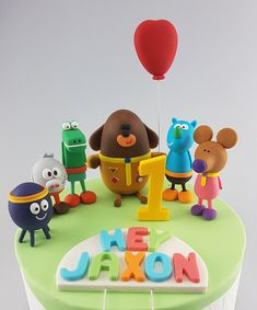 Hey Duggee Cake Topper Edible Name Age Squirrel Club Pooch 2nd Birthday Cake Boy, 4th Birthday Parties, Birthday Cake Toppers, Birthday Fun, Birthday Ideas, Cakes For Boys, Cake Kids, Cake Models, Girl Cakes