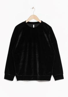 & Other Stories   Velvet Sweatshirt                                                                                                                                                                                 More