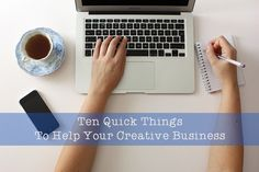 10 Quick Business Tips for your small or creative business by Butterfly-Crafts