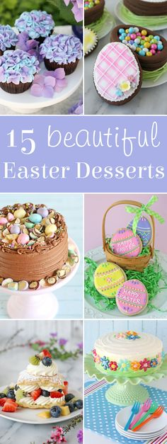 A beautiful collection of Easter dessert recipes!