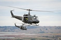 Operated by crews from No 3 Squadron at Ohakea, the Iroquois fleet has been in operation for almost 50 years and has been a stalwart of the RNZAF's operational outputs since its purchase.   The Iroquois is being replaced by the state of the art NH90 Helicopter.