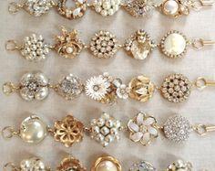 Bracciale Vintage orecchino bracciale di ChicMaddiesBoutique