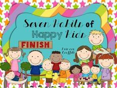 Seven Habits of Happy Kids {Freebie}