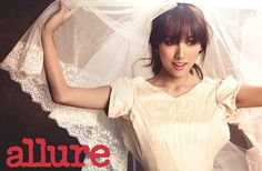 New Bride Lee Hyori Tempts With Her Kissable Red Lips In Allure Korea | Couch Kimchi