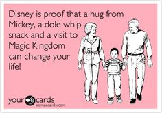 Disney is proof that a hug from Mickey, a dole whip snack and a visit to Magic Kingdom can change your life!