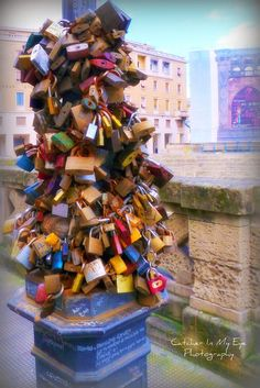 The Love Padlocks of Lecce