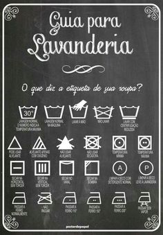 :: Guide for laundry :: Poster. Personal Organizer, Home Hacks, Organization Hacks, Getting Organized, Clean House, Good To Know, Decoration, Cleaning Hacks, Weekly Cleaning