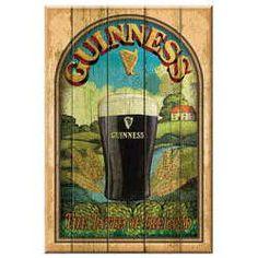 Guinness Taste of Ireland Wooden Sign