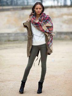 Zara tartan scarf #zara #blanket #scarf