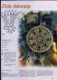 Crocheted motif no. Crochet Snowflake Pattern, Crochet Stars, Crochet Motifs, Crochet Snowflakes, Crochet Flower Patterns, Thread Crochet, Crochet Doilies, Holiday Crochet, Crochet Home
