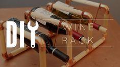 DIY Wine Rack - YouTube