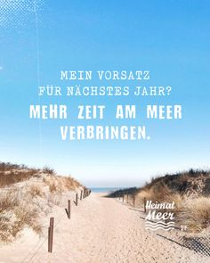 Vorsatz für nächstes Jahr? MEHR MEER! Mehr von Heimatmeer hier >> Beach, Outdoor, Pictures, Inner Peace, Vacation Travel, Time Out, Outdoors, The Beach, Beaches