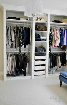 Magnificent Ikea Hacks trend Toronto Transitional Closet Decorators with Built in walk in closet custom-made DIY dressing room ikea hack Ikea Pax mouldings