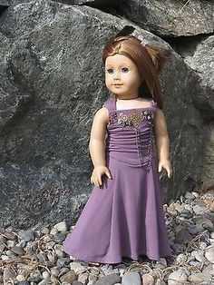 "Melody Valerie ""Betsy"" American Girl 18"" Doll Evening Gown Clothes Couture 