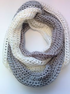 "At the beginner of December, I released my free ebook called The Beginner's Guide to Crochet. Judging by how many people have pinned the image of this scarf, it seems that the ""Duo-Chro…"