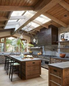 20 Beautiful Luxury Kitchen Design Ideas (Traditional, Dream and Modern Kitchen). - 20 Beautiful Luxury Kitchen Design Ideas (Traditional, Dream and Modern Kitchen) - Rustic Kitchen Design, Luxury Kitchen Design, Home Interior Design, Beautiful Interior Design, Dream Home Design, House Kitchen Design, Home Architecture Design, Interior Design Kitchen, Scandinavian Modern Interior