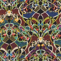 Benartex Fabrics Paula Nadelstern Palindromes Lots of Knots Multi | Fabric