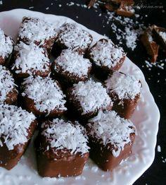 """Słodka Strona: Domowe Kokosowe Czekoladki """"Bounty"""""""