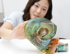 LG unveil an incredible flexible TV Visit us at: www.itchltd.com