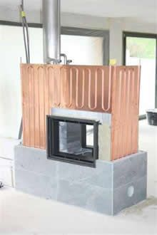 gwerder-news. Electrical Projects, Stove Fireplace, Heat Exchanger, Ovens, Home And Living, Wood Projects, Tiny House, Building A House, Rooster