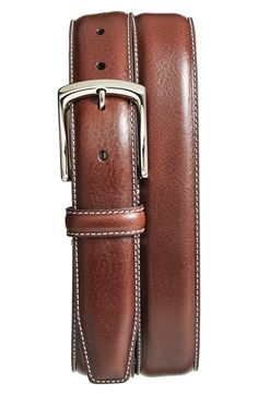 1 3/8 ( comes in blue) Torino Belt Burnished Leather Belt available at #Nordstrom