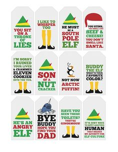New Funny Christmas Tags Printable Neighbor Gifts Ideas Office Christmas, Christmas Elf, Christmas Humor, Christmas Ideas, Christmas Crafts, Christmas Budget, Christmas Neighbor, Christmas Print, Christmas Pictures