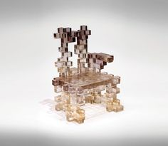 The charm of the transparent chair.
