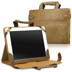 BoxWave Manhattan Elite iPad 2 Travel Case - Slim Genuine Leather Folio Briefcase / Carrying Case with Convenient Handles and Rotating Multi-Angle Stand for Landscape and Portrait Viewing - iPad 2 Cases and Covers (Sienna Brown) by BoxWave. $19.95. We all like to achieve moments of brilliance, moments when we accomplish something truly spectacular. The purchase of the Manhattan Elite Travel Case can be one such moment for you.Feel confident using the integrated han...
