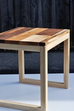 """""""Leftovers"""" Side Table"""