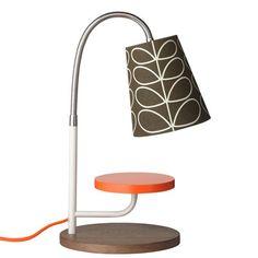 Orla Kiely | UK | House | Living | Linear Stem Mini Task Lamp (0LAMLST425) | Bark