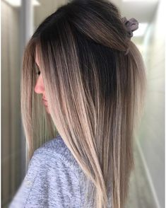 Agent Bronde, 007 😎💕 honestly in love with this taupey blend by She used Shades EQ for the root with clear for the toner 👏💥 🔹 🔹 🔹 🔹 For a chance to be featured tag us and 💙 Best Ombre Hair, Brown Ombre Hair, Ombre Hair Color, Balayage Straight Hair, Balayage Hair, Bronde Haircolor, Violet Hair Colors, Redken Shades Eq, Lavender Hair