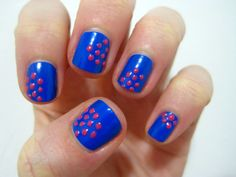puff paint polka dots.  I could spell something in Braille with this idea.