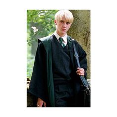 How-To Draco Malfoy Costume ❤ liked on Polyvore
