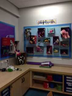 Toy museum classroom display Class Displays, Classroom Displays, Classroom Ideas, Bee, Shops, Museum, The Unit, Teaching, Education