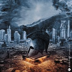 Arrayan Path - Chronicles Of Light (animated cover GIF) #animatedcovers #arrayanpath #pitchblackrecords #powermetal #heavymetal #metal #cyprus #metalheads #gifs #animations