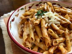 Penne with Eggplant & Tomato Sauce – Fabulous Fare Sisters How To Grill Steak, Penne, Tomato Sauce, Eggplant, Pasta Salad, Grilling, Sisters, Vegetarian, Chicken