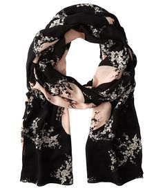 Marc by Marc Jacobs Kaipop Flower Scarf Black Multi - Zappos Couture