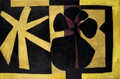 Cave to Canvas, Robert Motherwell, Wall Painting III, 1952 From...