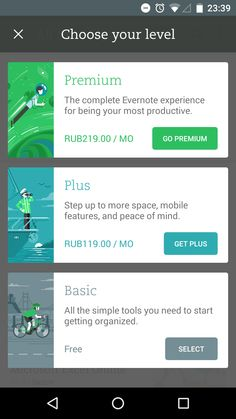Android: Evernote