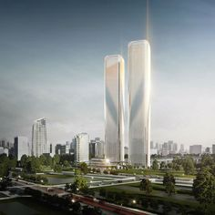 Laboratory for Visionary Architecture (LAVA) unveiled the design of Zhejiang Gate Towers in Hangzhou, China. The towers are an iconic entrance to the city of Hangzhou. The design of the two towers is based on the Chinese characters for 'gate', and they feature a shimmering façade of fins. LAVA's masterplan for the mixed-use development consists of five …