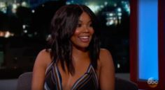 Gabrielle Union Talks 'Being Mary Jane' And Showing Her Butt On 'Jimmy Kimmel Live' (VIDEOS) #Entertainment #News