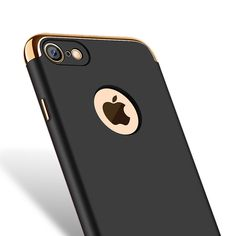 Ultra-thin Shockproof Armor Plated Frame Back Cover Case for Apple iPhone iPhone 7 7 Plus Fashion Women Man Phone Case