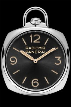 SIHH 2014 - Panerai - Pocket Watch 3 Days Oro Rosso