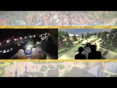 Walt Disney Imagineering just released this new video of Seven Dwarfs Mine Train! It shows a side-by-side comparison of onboard footage of the attraction with an original CGI onboard that was created early on in the attraction's development.