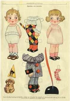Picasa ~~ Web Albums. Do You Remember Paper Dolls? Print this on cardstock and enjoy this old time favorite with a child.