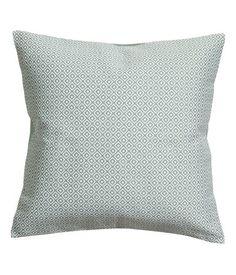 Jacquardvevd putetrekk   Tåkegrønn   Home   H&M NO