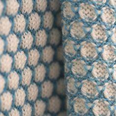 Blanket NECTAR Ice blue - interior - La Femme Garniture