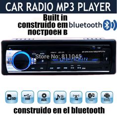 new 12V Car Stereo FM car Radio bluetooth MP3 Audio Player Support Bluetooth Phone USB SD