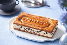 AOP認定のフランス産発酵バター「エシレ バター」の美味しさをさまざまな角度から伝える期間限定店舗「エシレ シャレット」が、5月1日から6月3日までギンザ シックスに、5月16日から5月29日まで伊勢丹新宿店にオープンする。今回の注目は、新登場の「ミルフイユ エシレ」。… Food Design, Ice Cream Factory, Cookie Factory, Japanese Snacks, Bread Cake, Cafe Food, Confectionery, Chocolate Desserts, Bakery